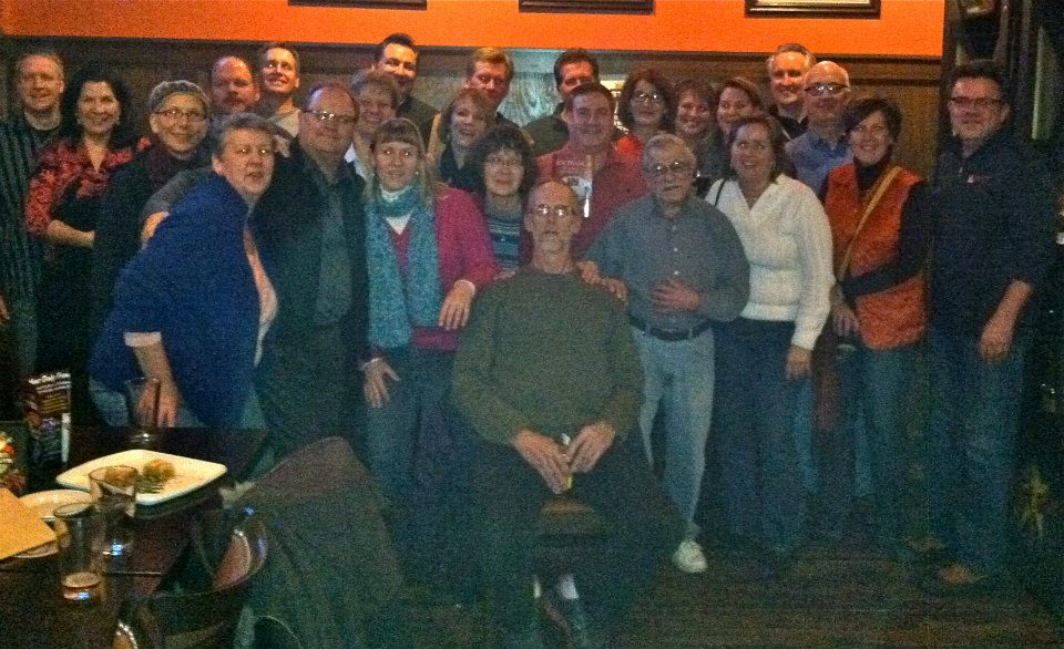 The 19th annual holiday gathering of The Barbers, my family's franchise business