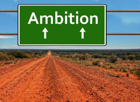 Ambition straight ahead