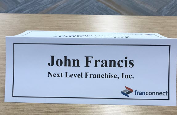 My participation at the FranConnect Influencer Day.
